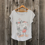 Disney | Mickey & Minnie Mouse Scoop Neck | Women's Size M