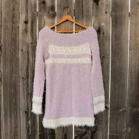 Anthropolgie | Sleeping on Snow Off Shoulder Sweater | Women's Size Small