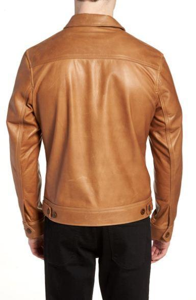 Waxy Leather Jacket