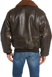 Genuine Shearling Collar G-1 Flight Jacket