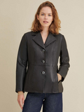 Jill Thinsulate Leather Blazer