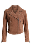 Next Level Suede Moto Jacket