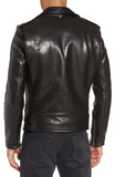 50s Oil Tanned Cowhide Leather Moto Jacket