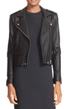 Ashville' Lambskin Leather Moto Jacket
