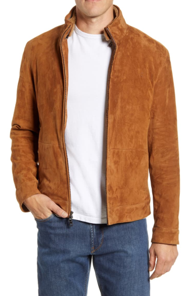 Vanoise Stretch Suede Jacket