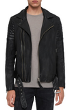 Bolt Slim Fit Leather Biker Jacket