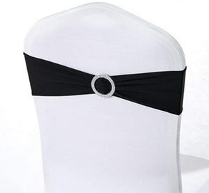 Stretch chair tie-back