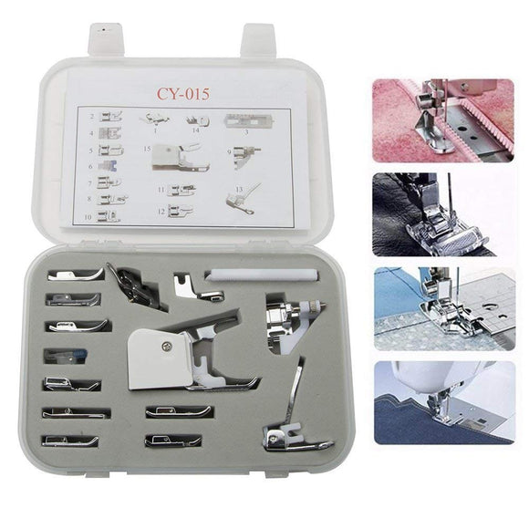 Presser Foot Kit - 15 Piece