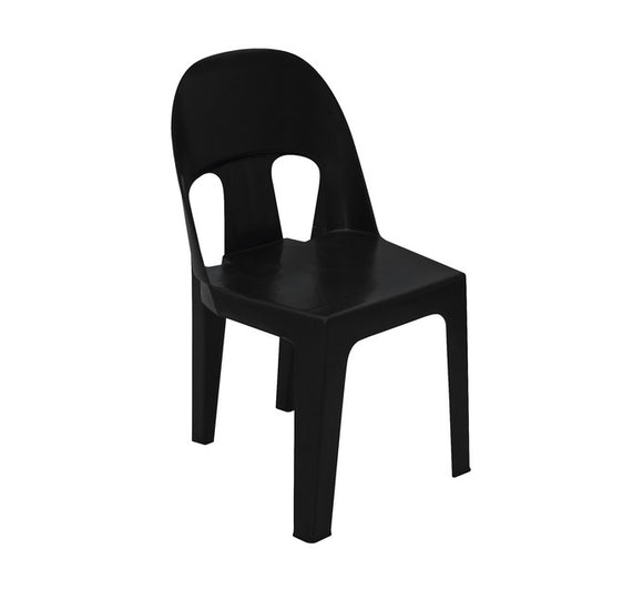 Plastic Party Chair - Black