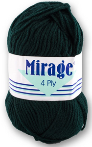 Mirage Wool - 4 Ply 25g (Bottle)