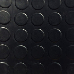 Rubber Flooring - Coin Design