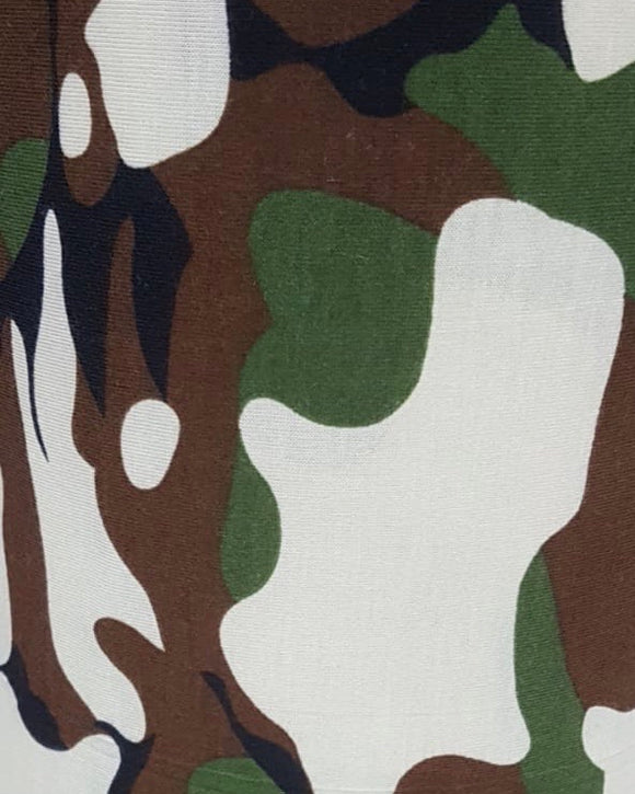 T-Shirt Fabric - Camo Design