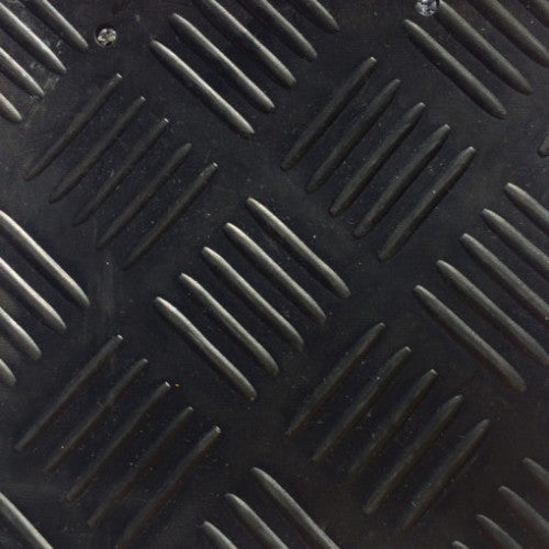 Rubber Flooring - Romboid Design