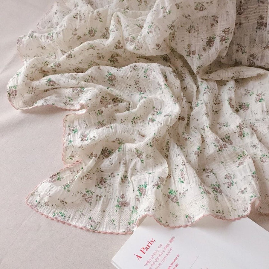 Cotton Muslin Blanket - Florence