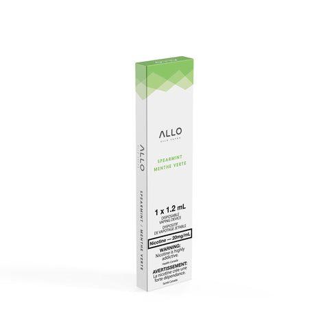 Spearmint Allo Disposable Vape