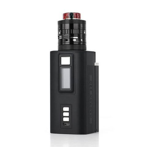 Steam Crave Hadron 220, Squonk Backpack, and Ragnar RDTA Premium Combo (Black)