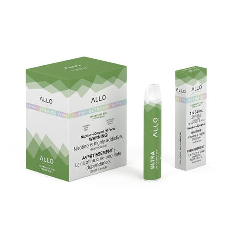 Strawberry Kiwi Allo Ultra 800 Puff Disposable Vape