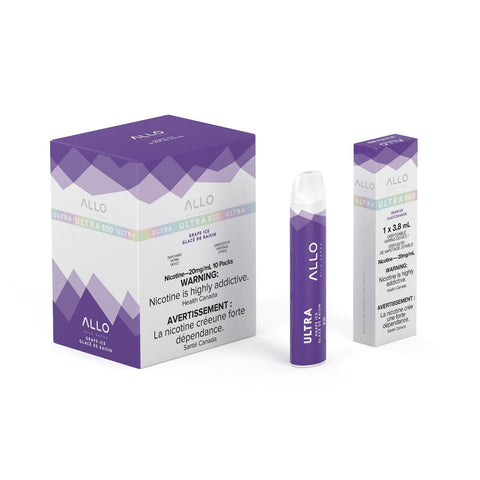 Grape Ice Allo Ultra 800 Puff Disposable Vape