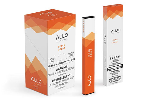 Peach Allo Disposable Vape