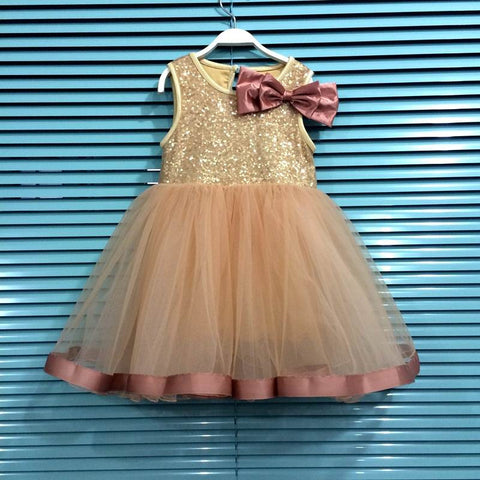 Dusky Golden Princess Dress