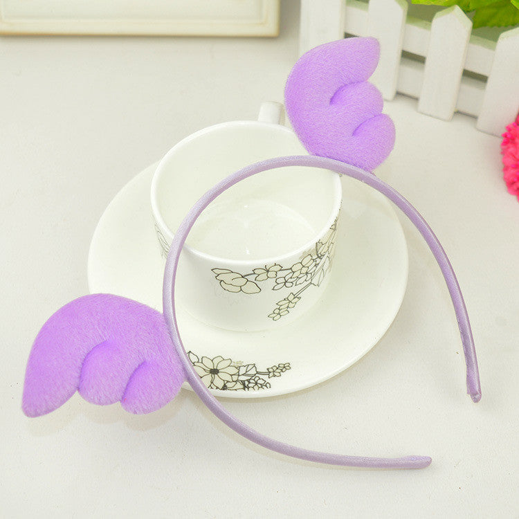 Angel Wings Hairband-Lavender