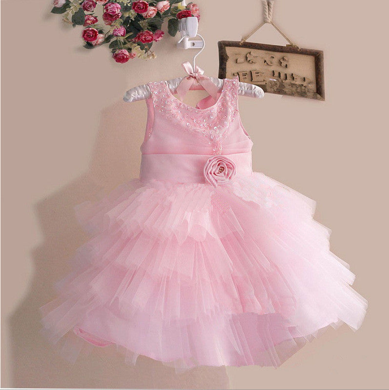 The Pink Rose Dress