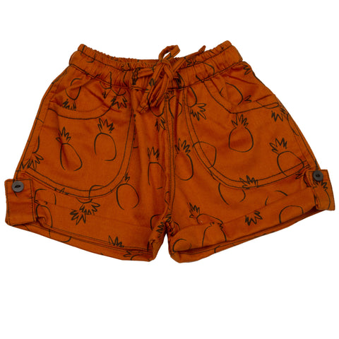 Pineapple print infant boys Cotton Shorts