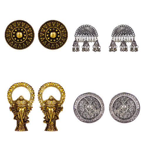 Earring Combo Set - oxidized jewellery