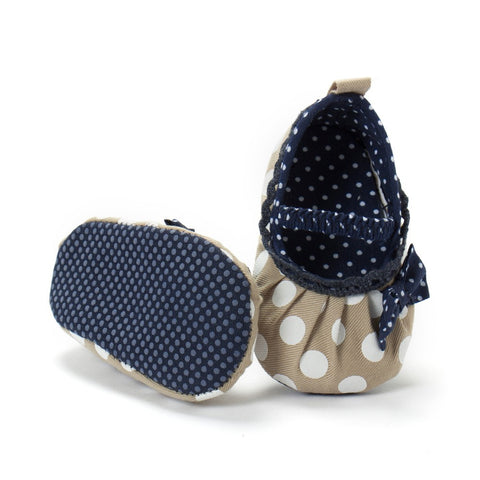 Big Polka Navy Shoes