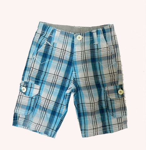 Checked Shorts for Boys
