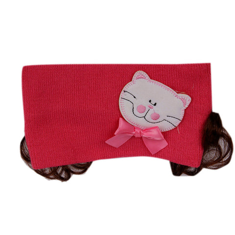 Pikaboo Bandana with Kitty - Hot Pink