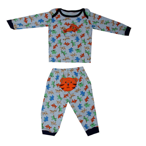 Animals print Tiger night suit