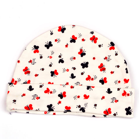 Cute Butterfly printed cap