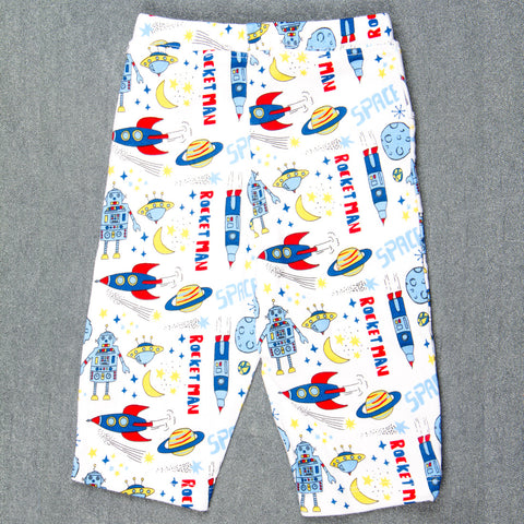 Space printed Pants - Boys