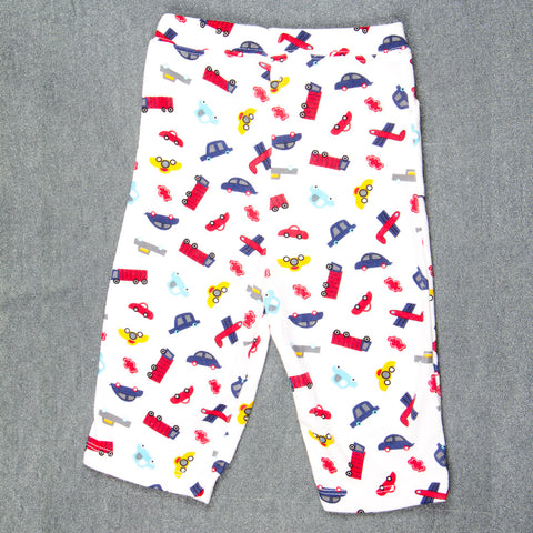 Vehicle printed Pants - Boys