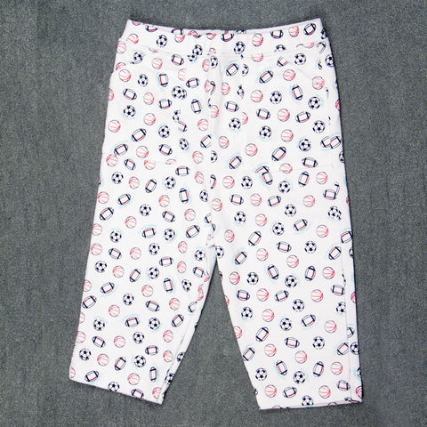 Ball printed Pants - Boys