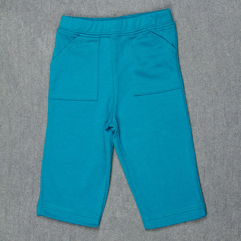 Solid Turquoise Pants - Boys