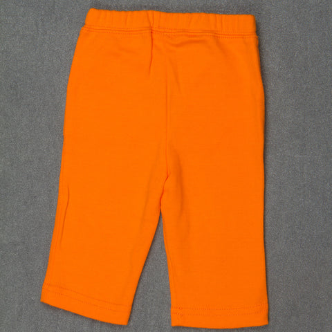 Solid Orange pants - Boys