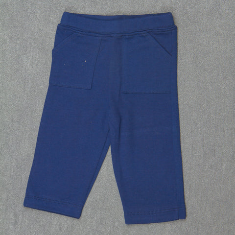 Solid Navy Pants - Boys