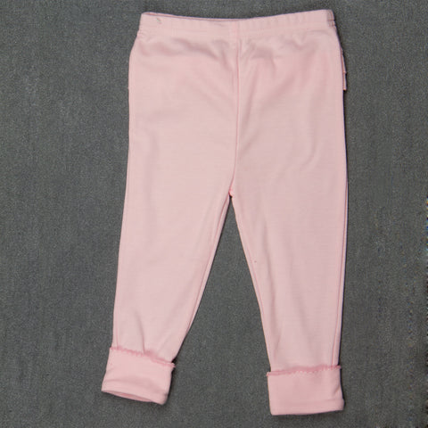 Baby Pink Pants with Frills - Girls