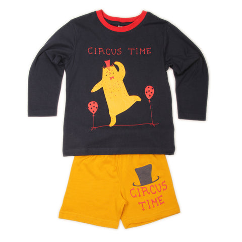 Circus Time T-shirt Shorts set - Navy