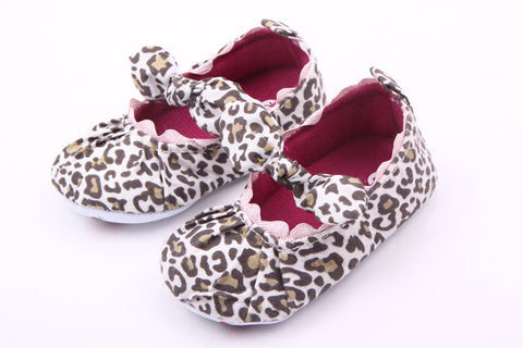 Animal Print Prewalker Shoes