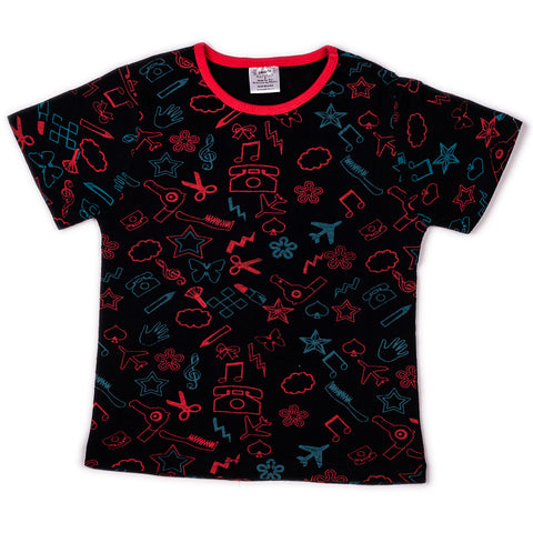 Craft printed infant boys t shirt