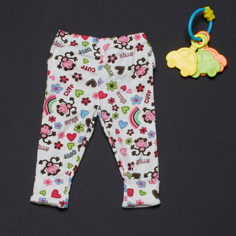 Monkey Pants with Frills - Girls