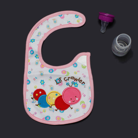 Caterpillar Applique Bib