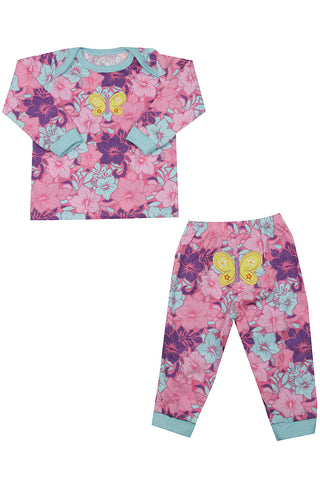 Butterfly Garden Night Suit