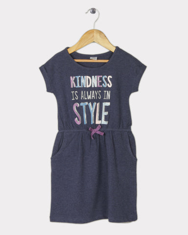 Kindness Dress - Blue