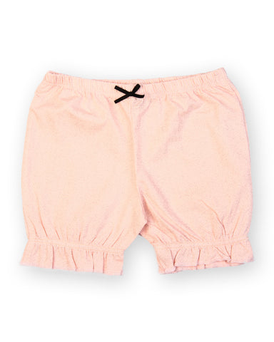 Baby Pink dotted print shorts