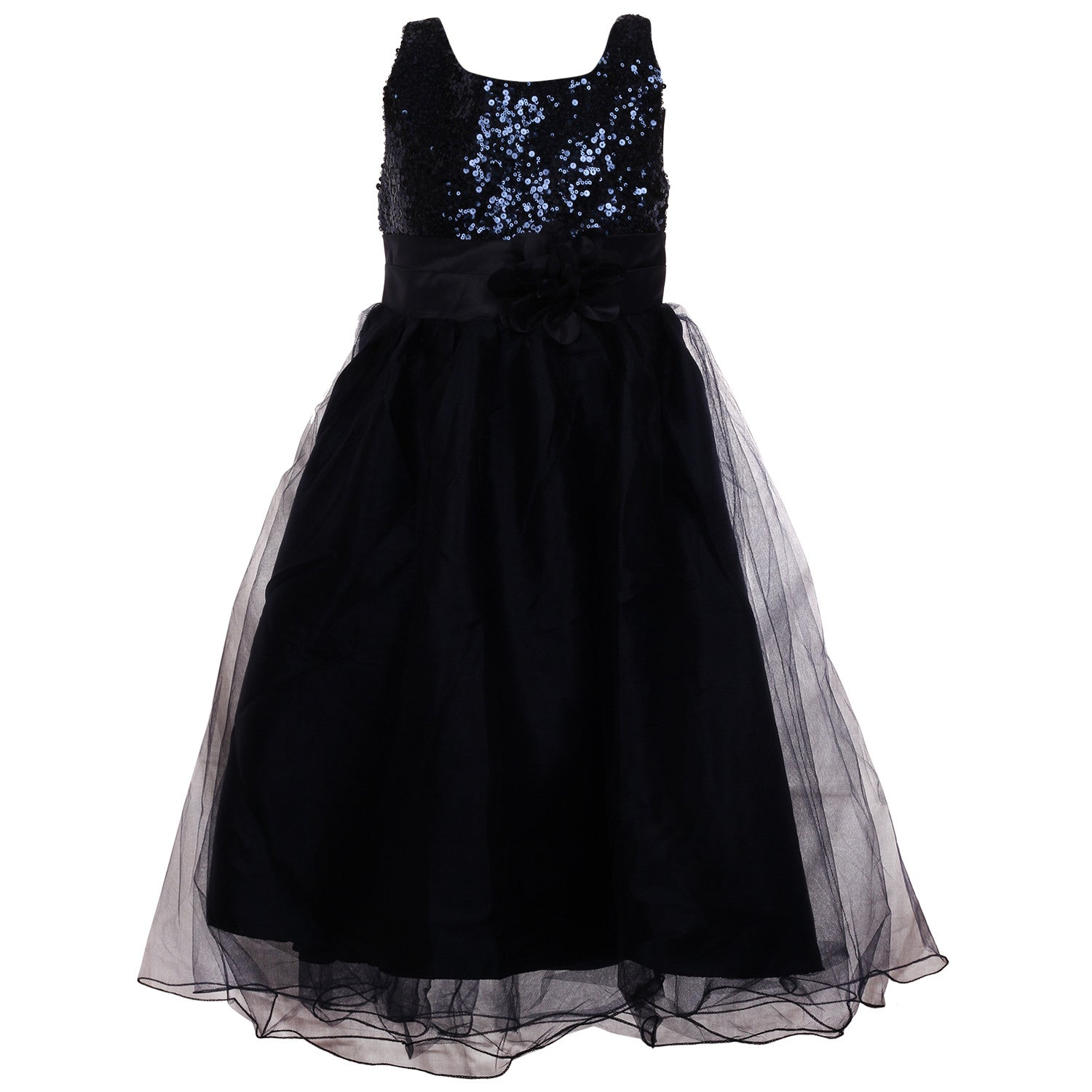 Gorgeous Little Lady Gown- Midnight Blue – Pikaboo
