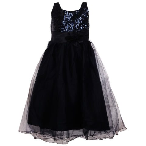 Gorgeous Little Lady Gown- Midnight Blue